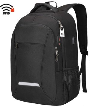 Laptop Backpack, Travel Business Backpack for Men & Women with USB Charging Port, Water Resistant Anti Theft School College Computer Back Pack Bag Fi for Sale in Piscataway, NJ