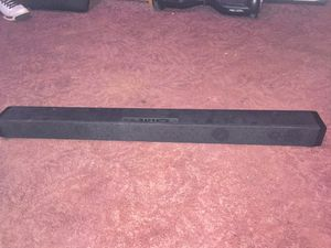 Tv with sound bar and sub woofer for Sale in Irwin, PA