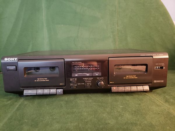 Sony Stereo Cassette Deck TC-WE305
