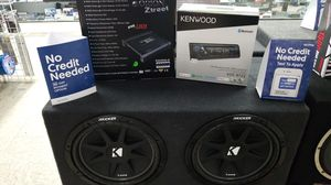 Stereo & Subwoofer System w/ Installation for Sale in Las Vegas, NV