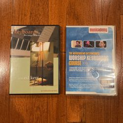 Two Worship Keyboard Instructional DVD for Sale in Temple City,  CA