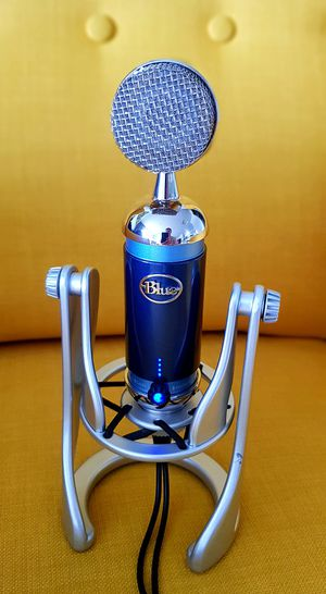 Blue Spar Microphone for Sale in Lynnwood, WA
