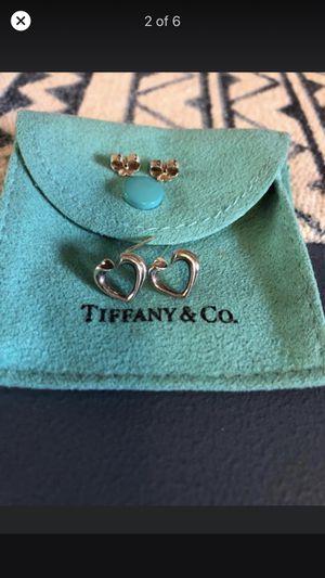Tiffany & Co. Sterling Silver Stud Earrings for Sale in Royal Oak, MI