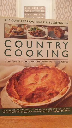 The Complete Practical Encyclopedia Of Country Cooking by Sarah Banbery for Sale in West Milton, PA