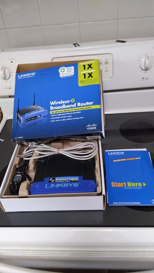 Linksys wireless-G broadband router for Sale in Arlington, TX