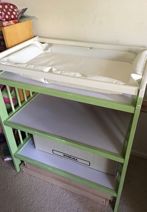 IKEA changing table with mattress for Sale in Alexandria, VA