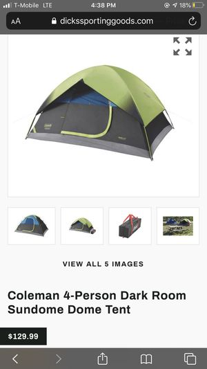 Coleman 4 person tent for Sale in Washington, DC
