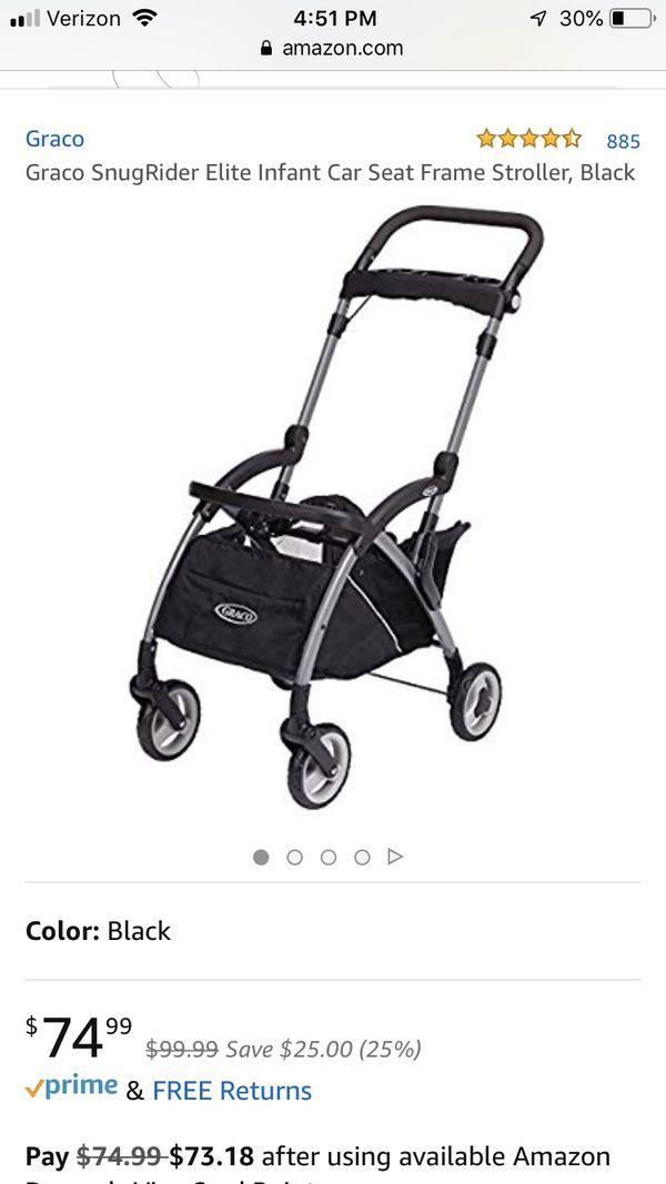 Graco Infant Car Seat Frame Stroller