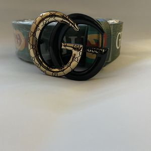 Gucci Green GG Buckle Leather Belt for Sale in Brooklyn, NY