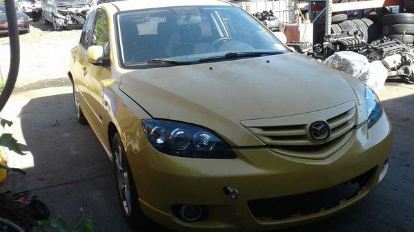 Parting Out - 2004 Mazda 3, 2.3 At