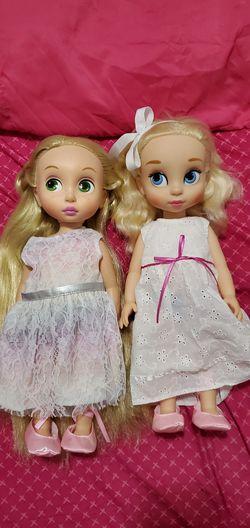 Disney Animator Dolls Rapunzel and Cinderella for Sale in Orlando,  FL