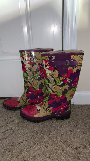 Women's rain boots for Sale in Massapequa, NY