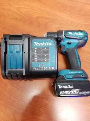 Makita brushless drill driver complete set for Sale in Covina, CA