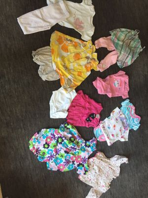 0-3 months baby girl summer clothes for Sale in West Springfield, VA