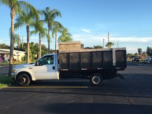 2001 Ford F-350 dump truck. for Sale in Bradenton, FL