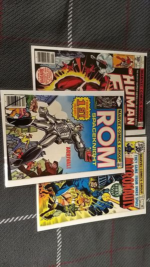 ROM #1 Micronauts #1 Human Fly #1 first issues lot for Sale in Independence, KS
