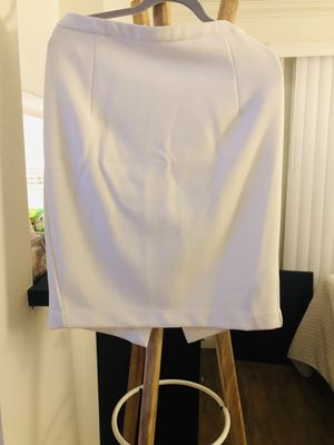 Zara XL White Pencil Skirt for Sale in Los Angeles, CA