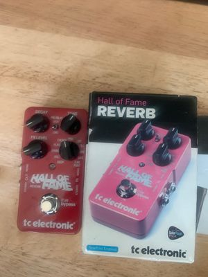 TC Electronic Hall of Fame 2 Reverb Pedal for Sale in San Bruno, CA