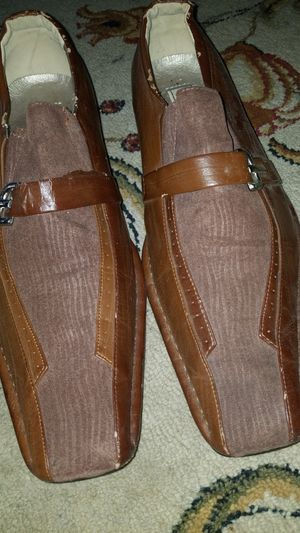 Mens brown dress shoes for Sale in Green Bay, VA
