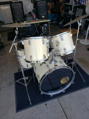 Vintage Tama Swingstar complete drum set with cymbals for Sale in Phoenix, AZ