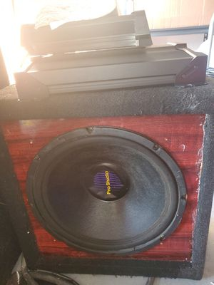 "15"" Pro Audio Sub in custom box for Sale in Port Richey, FL"