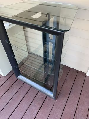 Black component shelf for Sale in Durham, NC