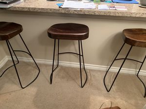 Mango Wood Bar Stools for Sale in West McLean, VA