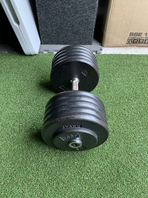 105lbs York Dumbbell for Sale in Wylie, TX