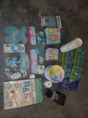 Baby Shower Supply/Decorations for Sale in Kissimmee, FL