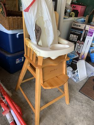 Eddie Bauer Wooden High Chair for Sale in O'Fallon, MO
