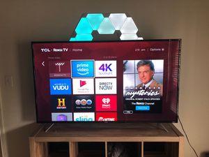 65 Inch TCL (65S405) 4K Roku TV for Sale in Franklin, TN