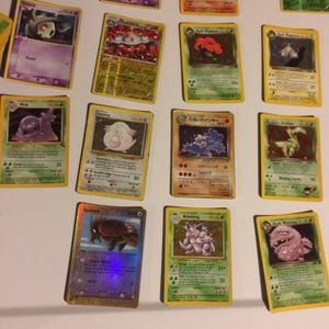 141 Pokémon Cards From 1995 And 39 Holos for Sale in North Smithfield, RI