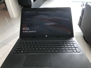 2018 HP Laptop 4gs of ram, 2.6 GHz processor, 1TB Storage for Sale in Miami, FL