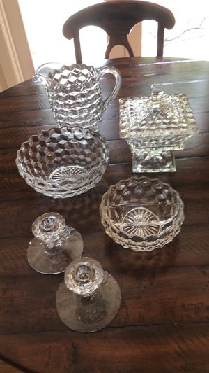 "Fostoria ""American "" Vintage Glass for Sale in Issaquah, WA"