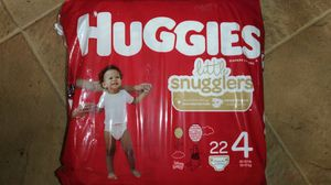Huggies diapers size 4 for Sale in Columbus, OH