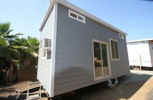 Modern tiny house on wheels 9 x 22 full appliances sleeps upto 4 people delivered to your property for Sale in Portland, OR