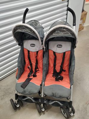 Chico double stroller for Sale in West Orange, NJ