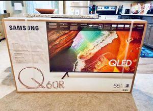 "55"" Samsung Smart 4K UHD Led HDR tv 2160p Quantum Qled for Sale in Lake Elsinore, CA"