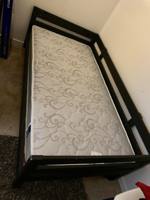 Twin bed with Serra mattress for Sale in Germantown, MD