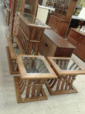 Coffee Table, Sofa Table, Two Side Tables - Matching, Individually Priced - New in at Finding Treasures Lynnwood for Sale in Bothell, WA