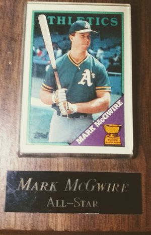 Mark McGwire Topps all-star Athletics baseball card for Sale in Canal Winchester, OH