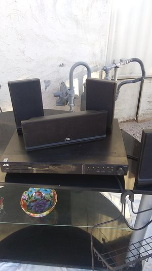 JVC DVD player and surround sound for Sale in Yuma, AZ