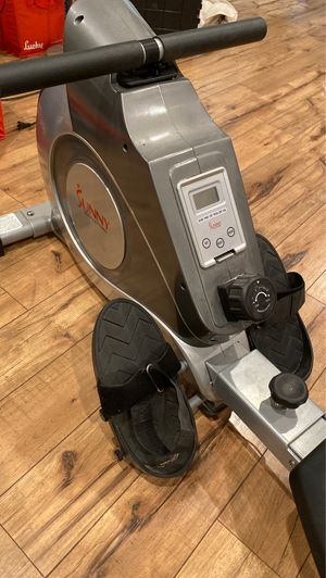 Rowing Machine! Practically brand new!! for Sale in Morgan Hill, CA