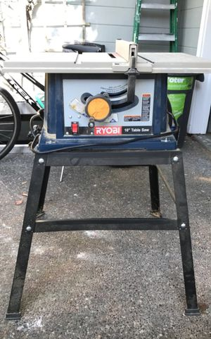 Ryobi Table Saw for Sale in North Las Vegas, NV