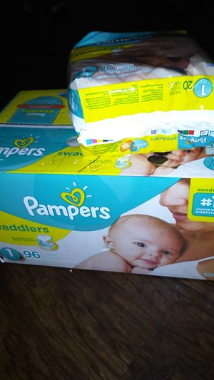 Pampers swaddlers for Sale in Greenville, SC