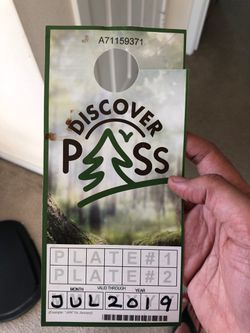 Discover pass - $3 for a month for Sale in Issaquah,  WA