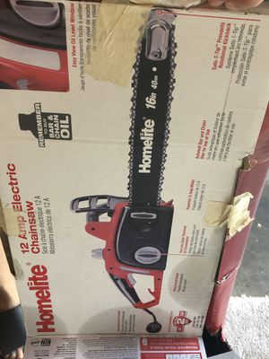 Homelite 16 in. 12 Amp Electric Chainsaw for Sale in Portland, OR