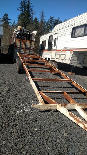 29 foot trailer mini home frame. for Sale in Scappoose, OR
