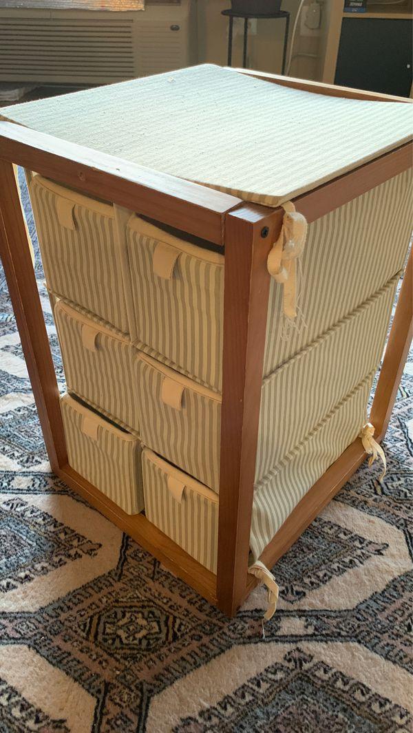 6-drawer bathroom or shoe organizer storage