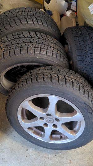 Infiniti G35 Sedan 17x7 225/55R17 Blizzak Snow Winter Tires for Sale in Snohomish, WA